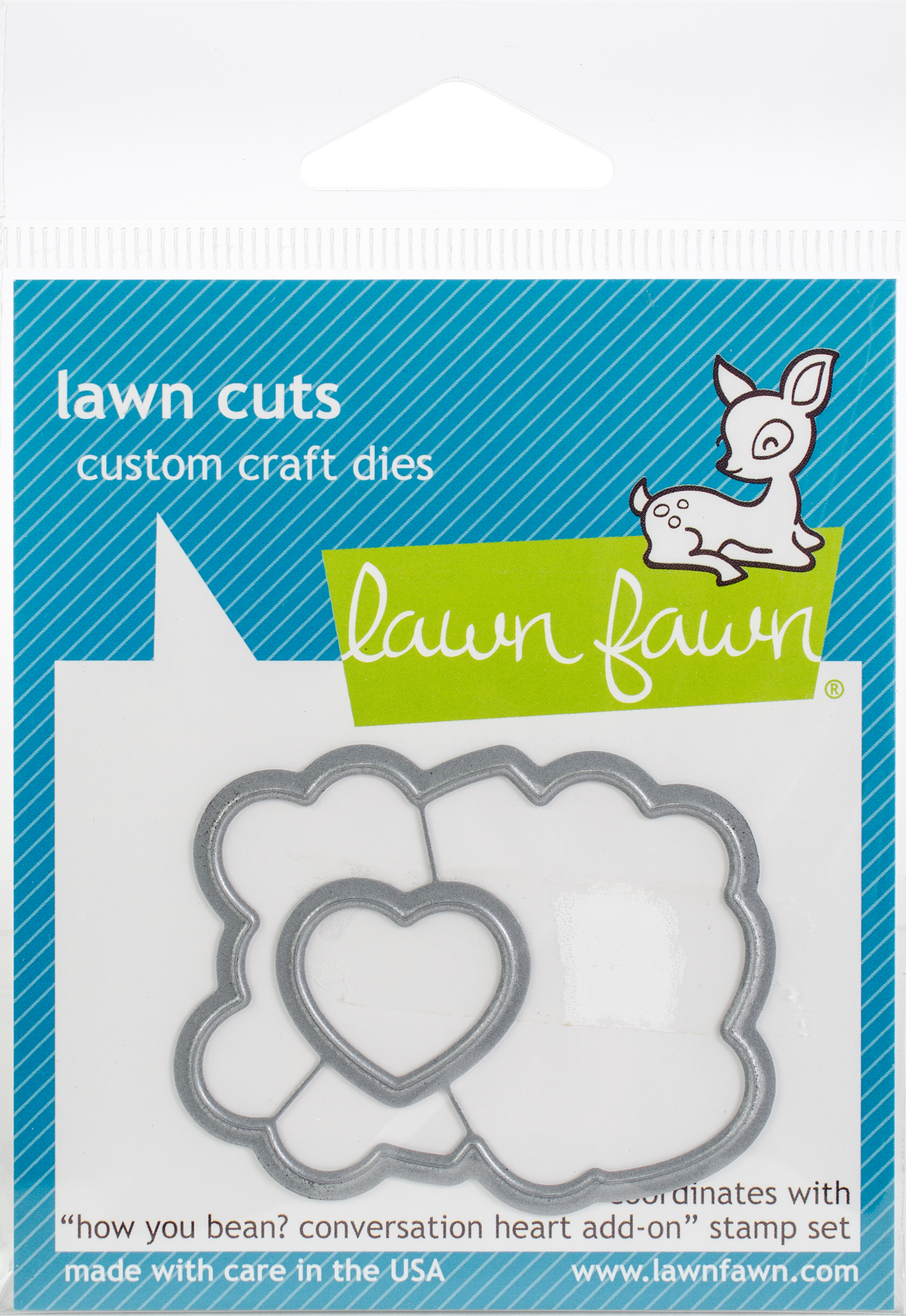 Lawn Cuts Custom Craft Die-How You Bean?