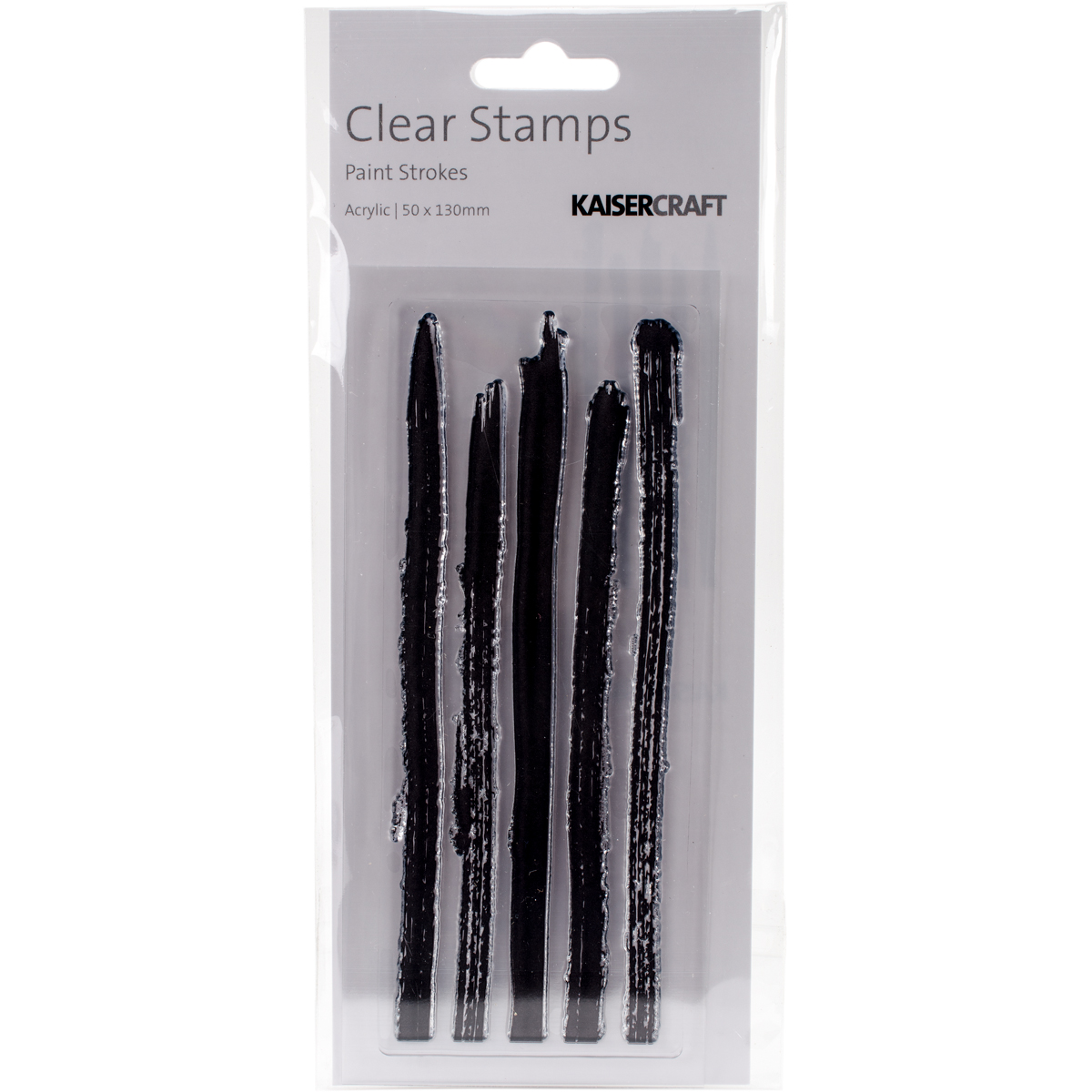 Texture Clear Stamps 2X5-Paint Strokes