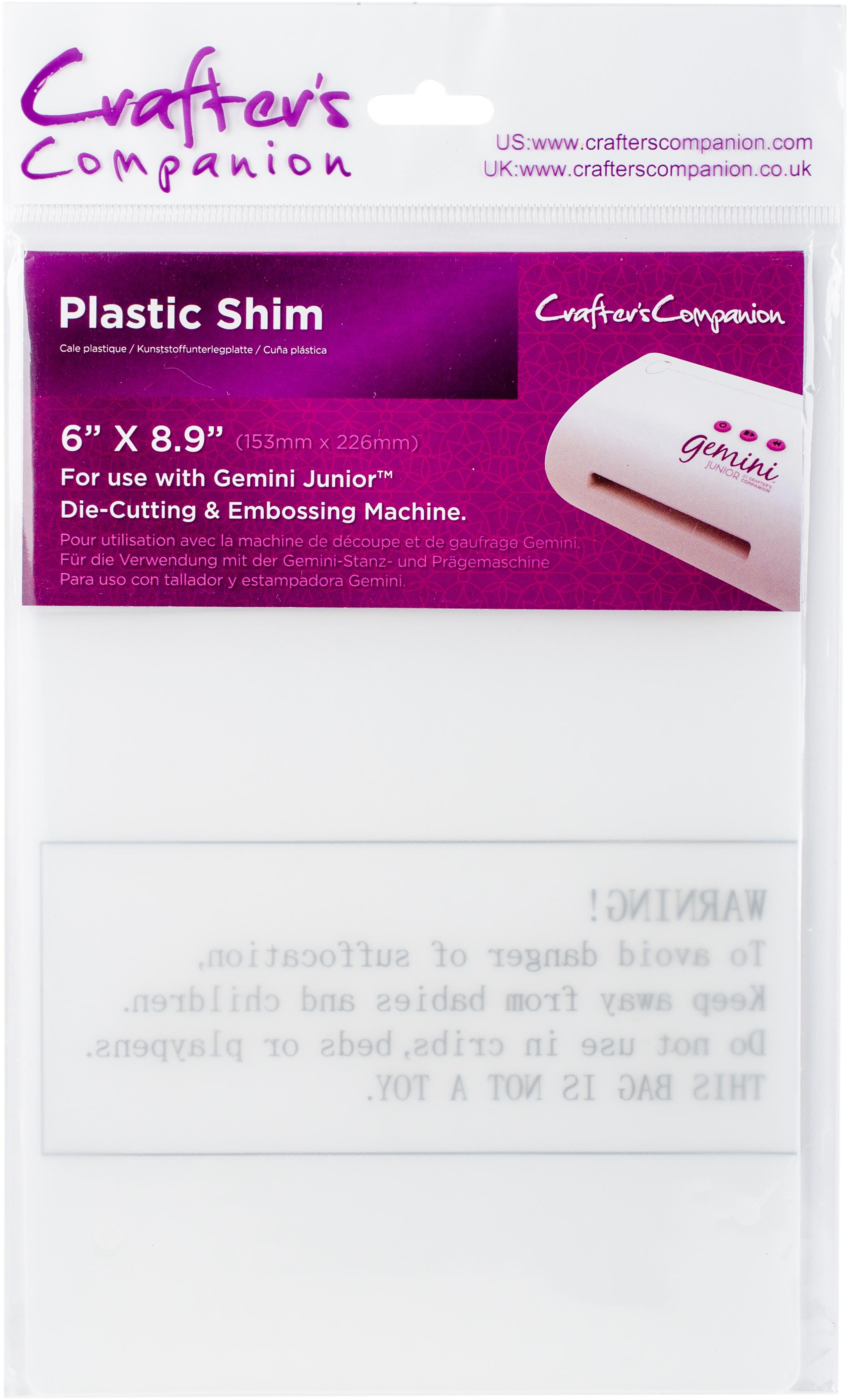 Crafter's Companion Gemini Junior Plastic Shim 6X9-