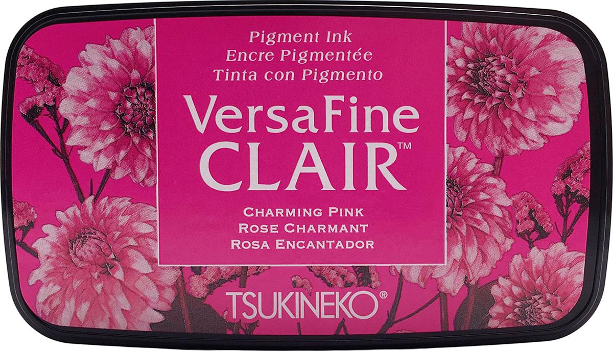 VersaFine Clair Ink Pad-Charming Pink