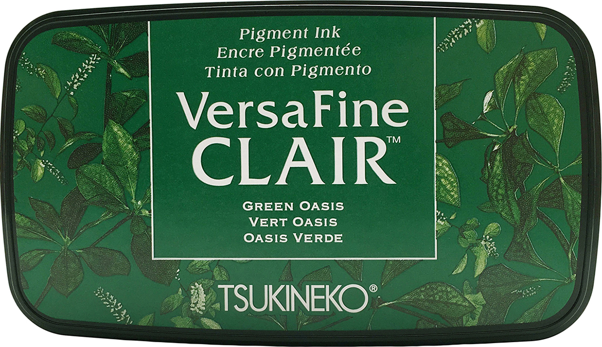 VersaFine Clair Pigment Ink Pad - Green Oasis