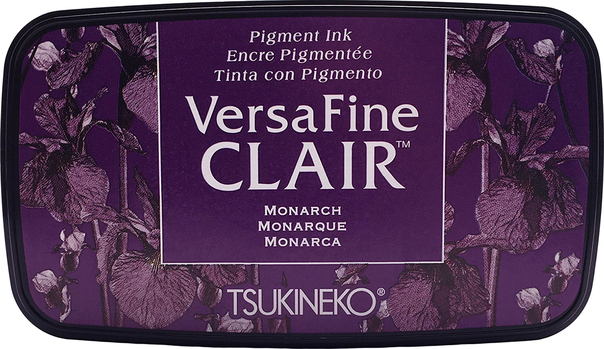 VersaFine Clair Ink Pad-Monarch