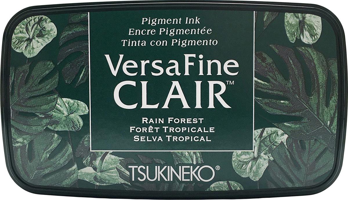 VersaFine Clair Ink Pad-Rain Forest