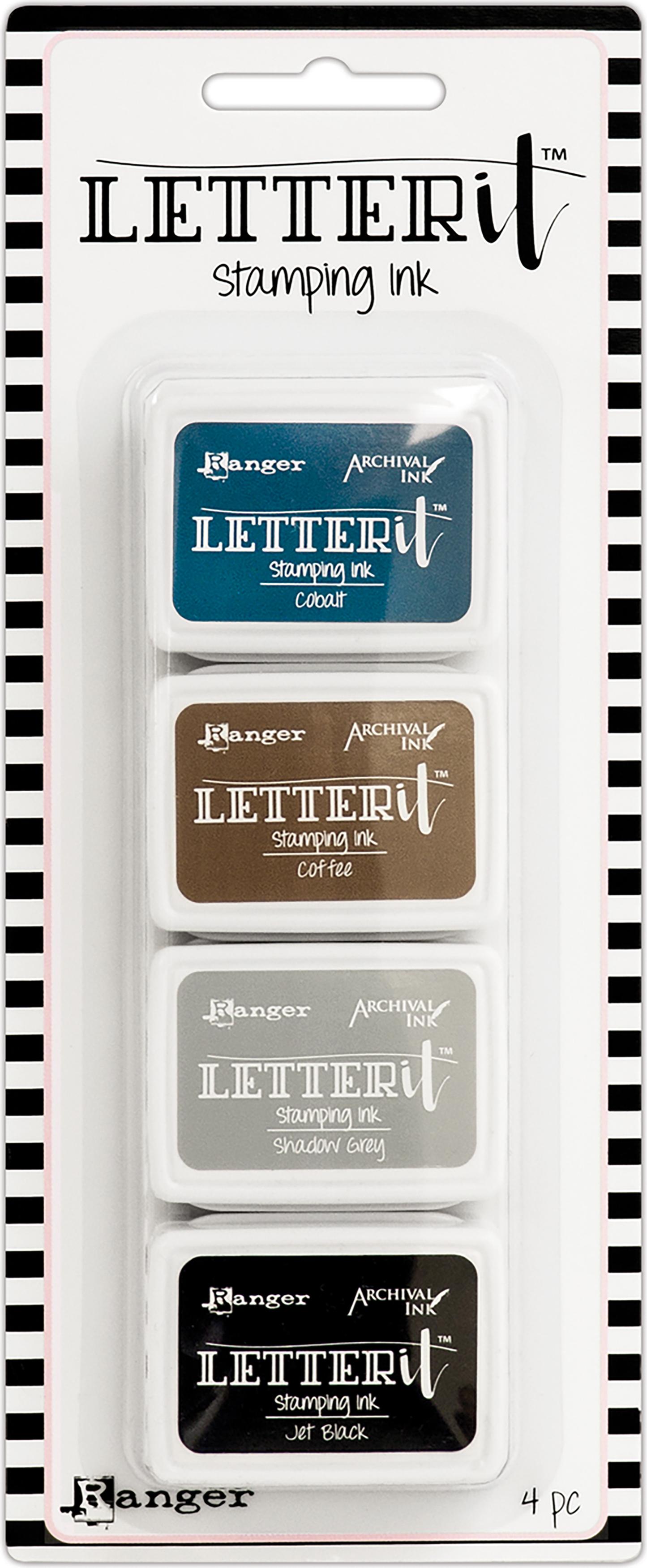 Ranger Letter It Stamping Ink Set - #1