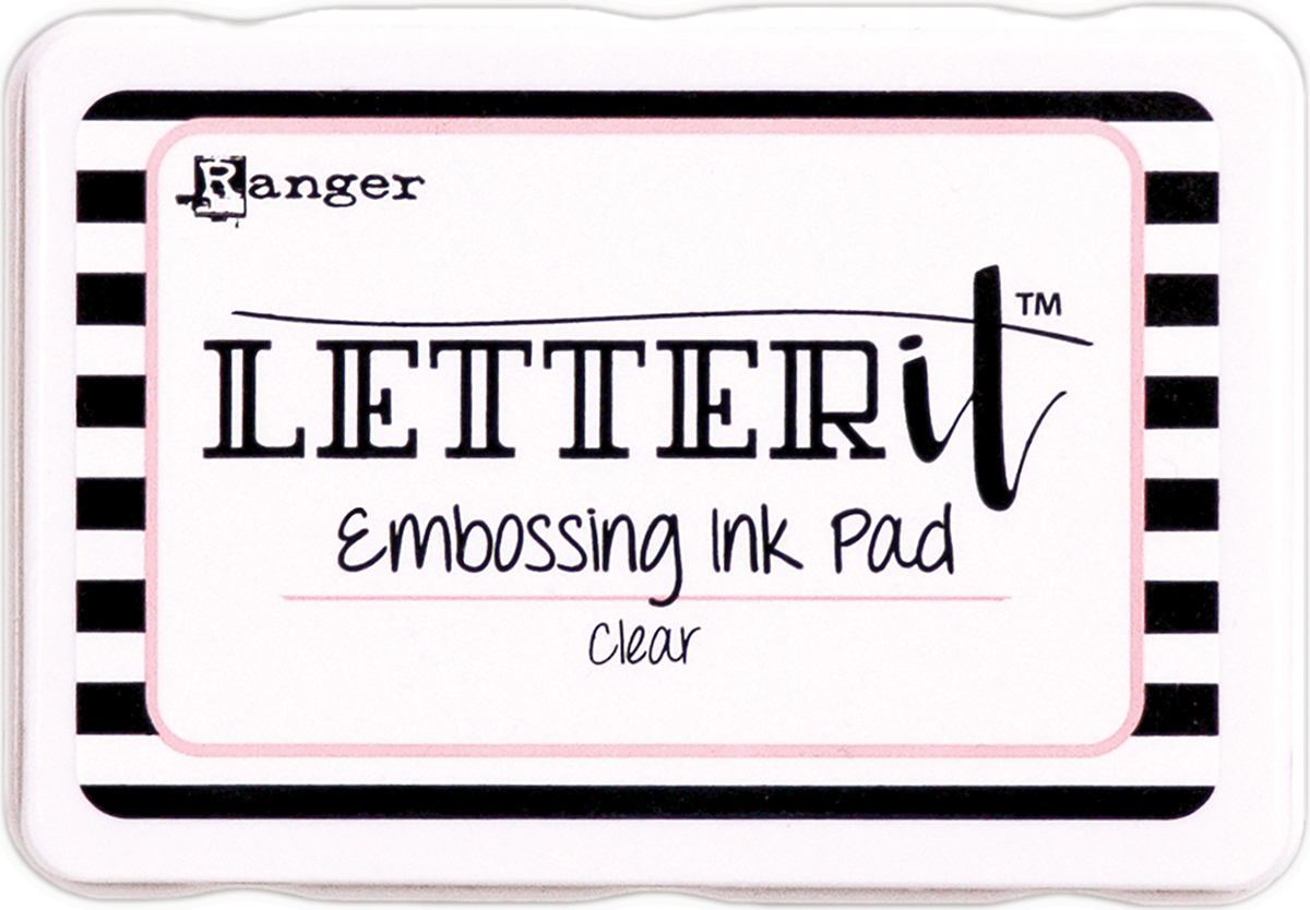 LETTER IT EMBOSSING PAD