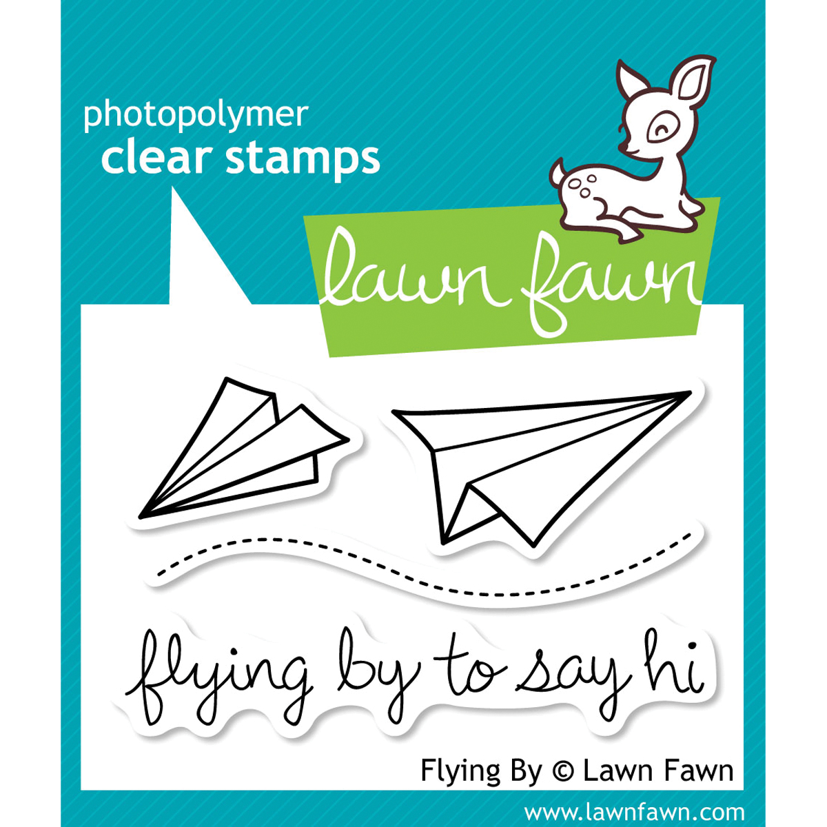 Flying By Stamp