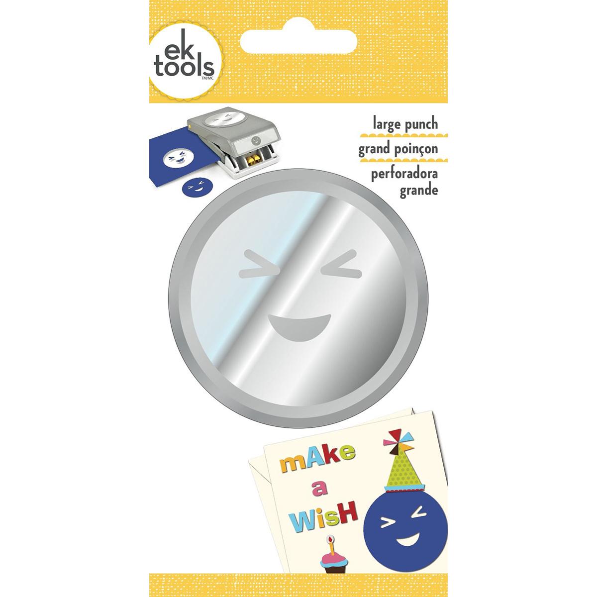 Wink Emoji-Large Punch