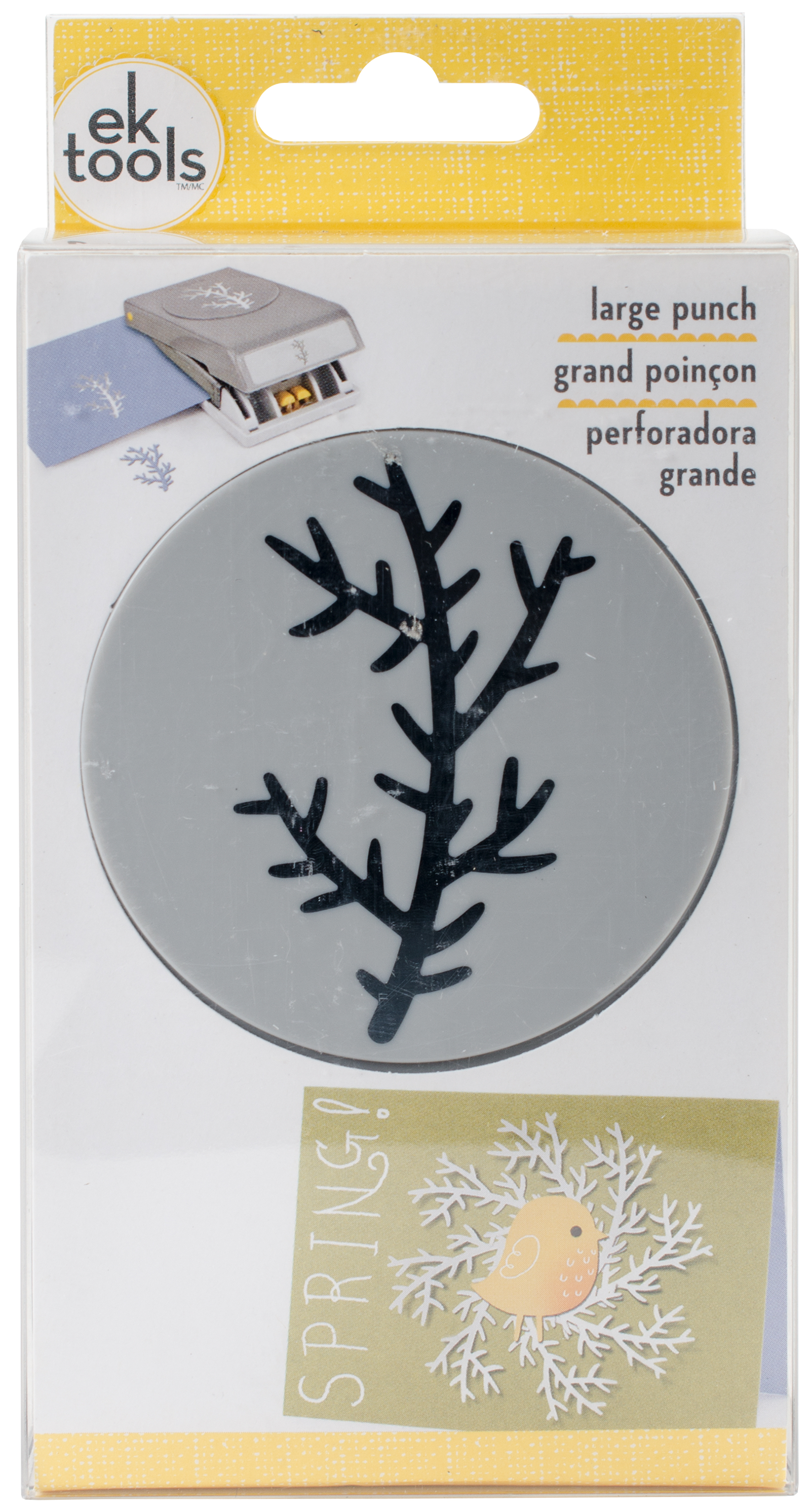 Large Punch-Branch