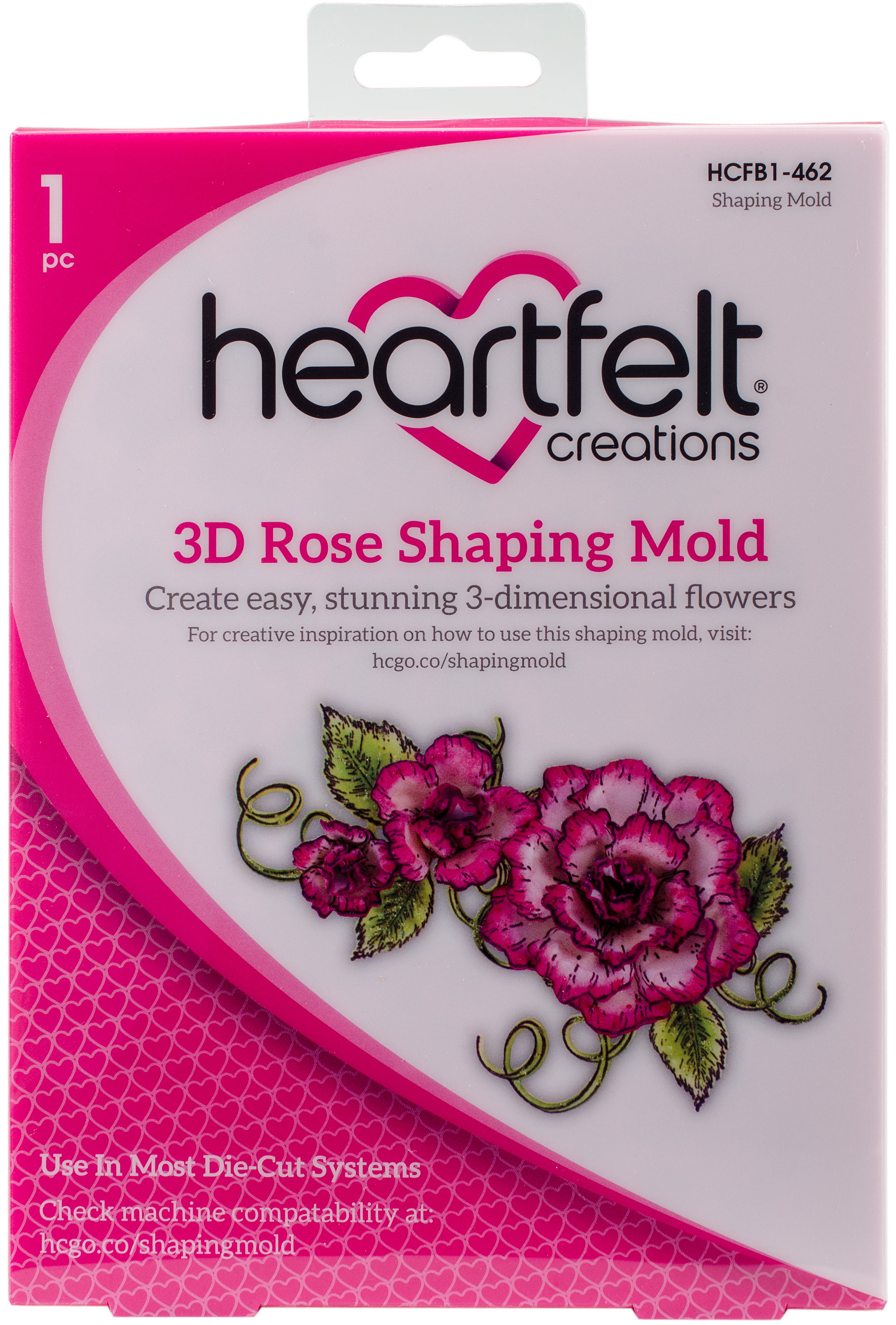 Heartfelt Creations Shaping Mold-3D Rose