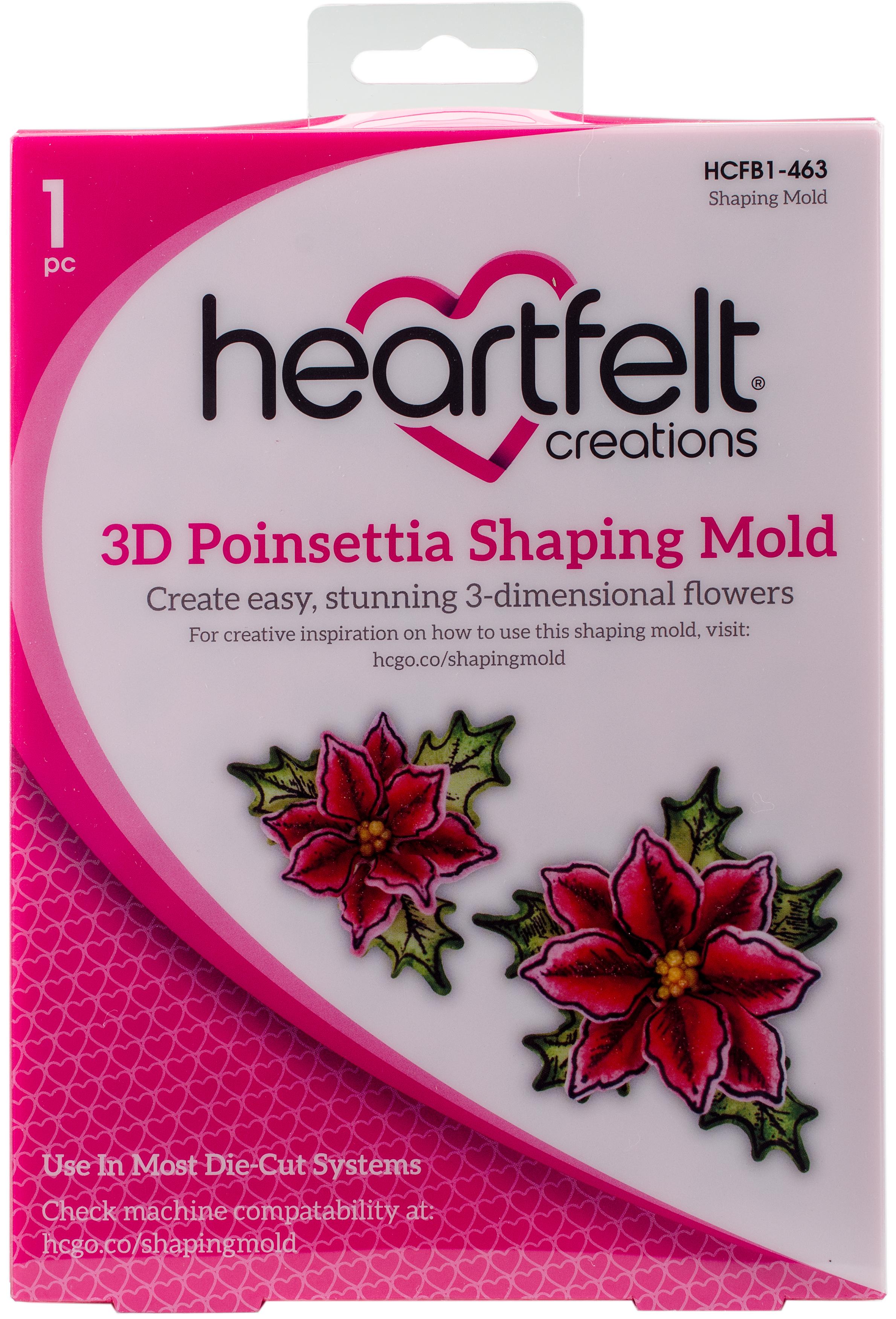 3D Poinsettia Shaping Mold