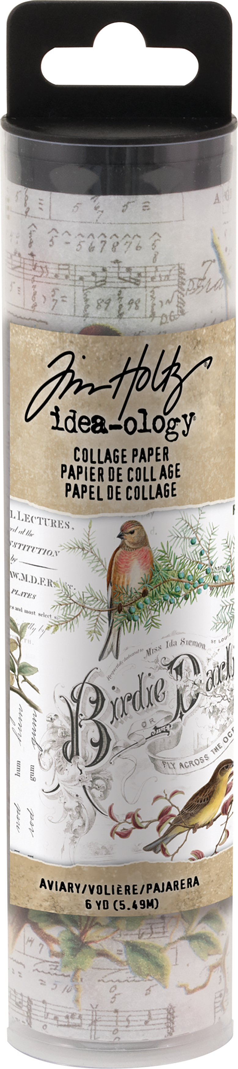 Idea-Ology Collage Paper 6X6yds-Aviary