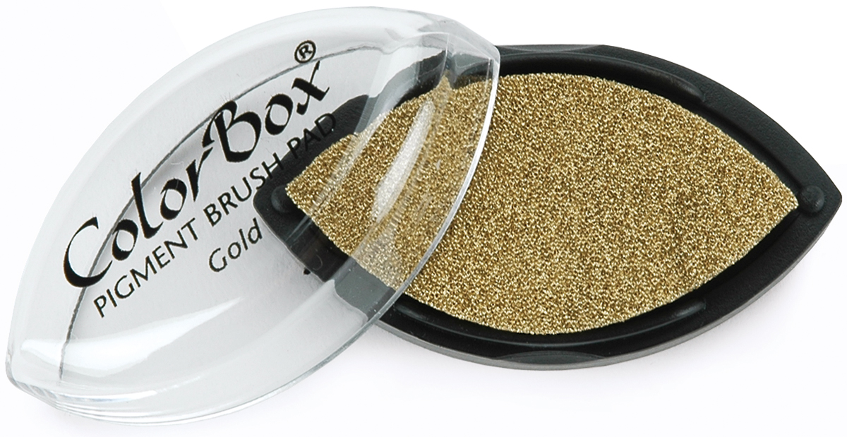 ColorBox Metallic Pigment Cat's Eye Ink Pad-Gold
