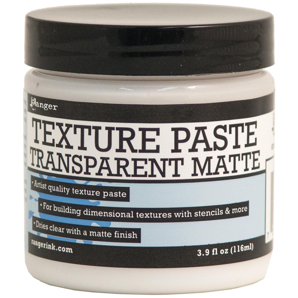 Ranger Texture Paste 4oz-Transparent Matte