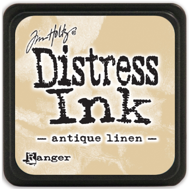 distress ink mini antique linen