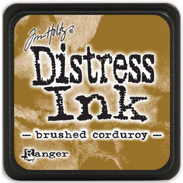 Distress Ink Mini Brushed Corduroy