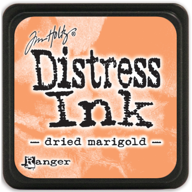 Tim Holtz Distress Mini Ink Pad-Dried Marigold