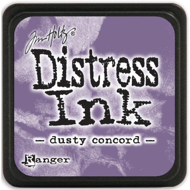 Tim Holtz Distress Mini Ink Pad-Dusty Concord