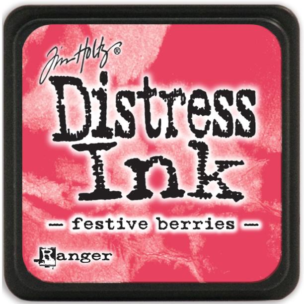 Tim Holtz Distress Mini Ink Pad-Festive Berries
