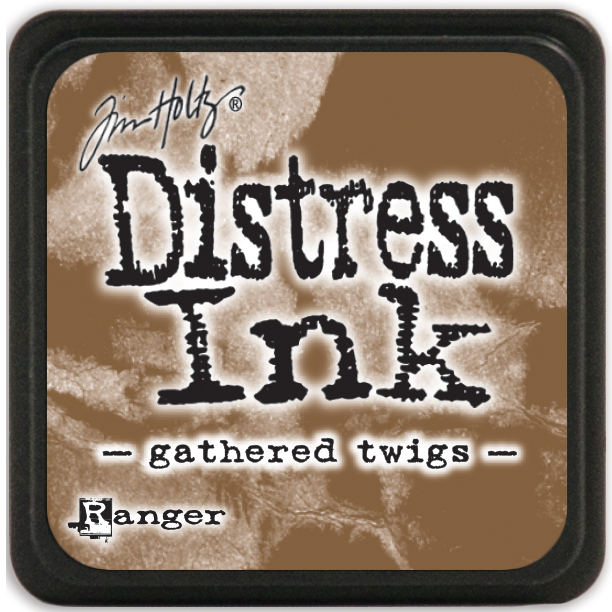 Tim Holtz Distress Mini Ink Pad-Gathered Twigs