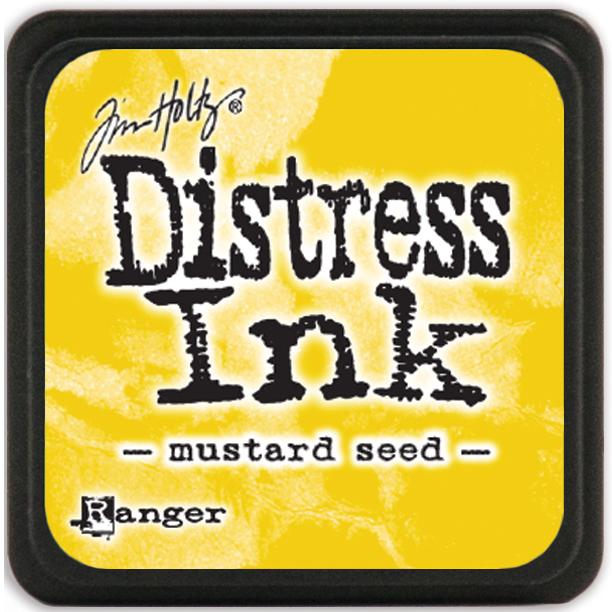 Tim Holtz Distress Mini Ink Pad-Mustard Seed