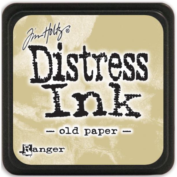 Tim Holtz Distress Mini Ink Pad-Old Paper