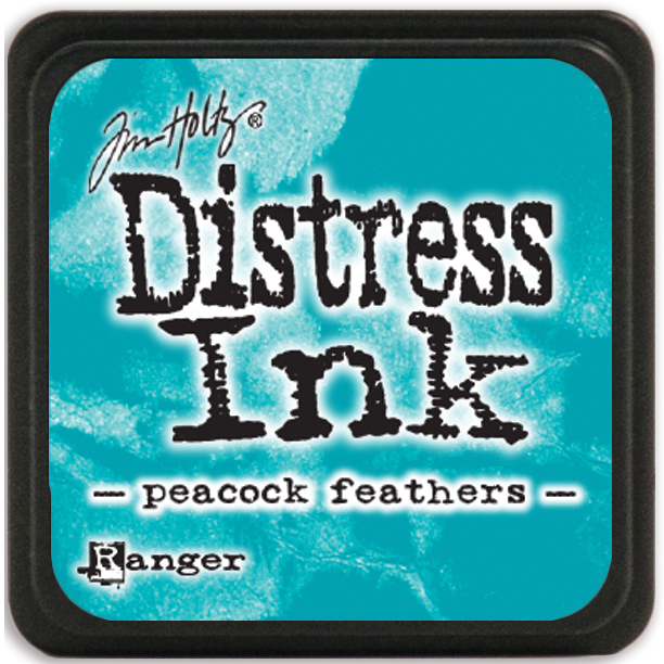Tim Holtz Distress Mini Ink Pad-Peacock Feathers