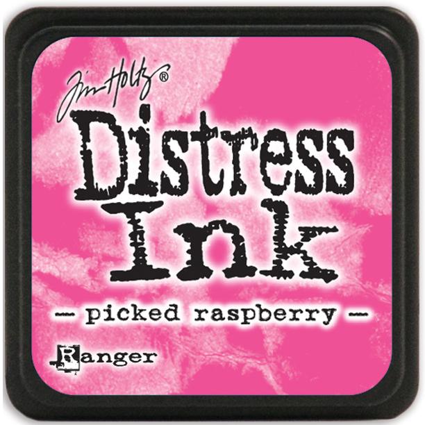 Tim Holtz Distress Mini Ink Pad-Picked Raspberry