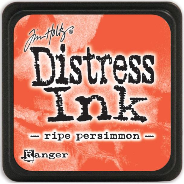 Tim Holtz Distress Mini Ink Pad-Ripe Persimmon
