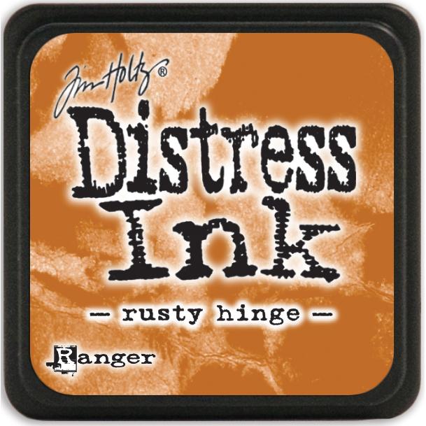 Tim Holtz Distress Mini Ink Pad-Rusty Hinge