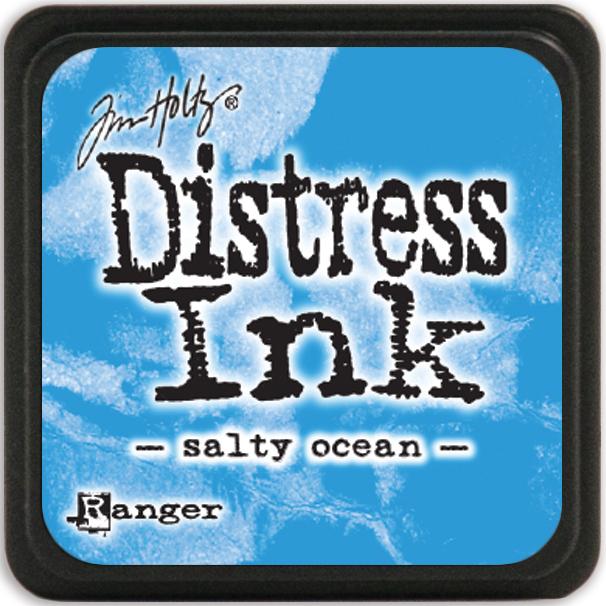 Tim Holtz Distress Mini Ink Pad-Salty Ocean