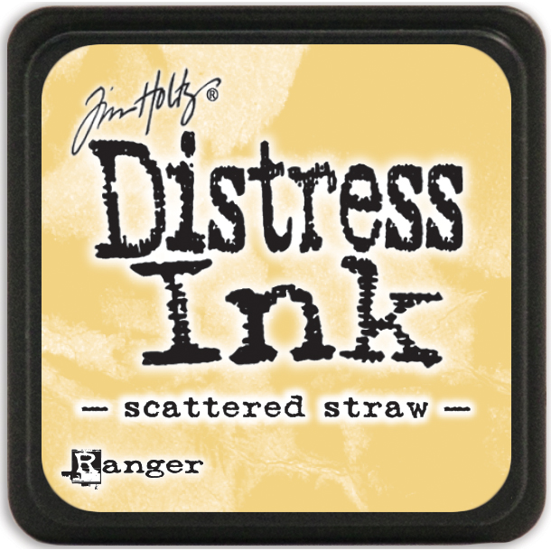 Tim Holtz Distress Mini Ink Pad-Scattered Straw
