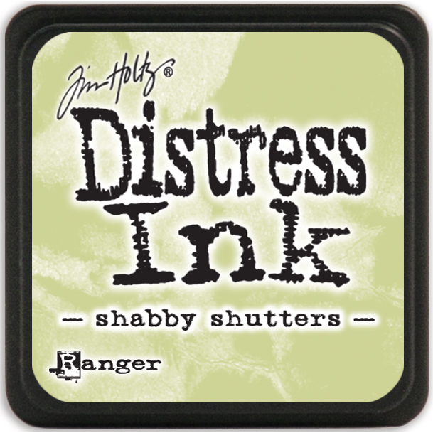 Tim Holtz Distress Mini Ink Pad-Shabby Shutters