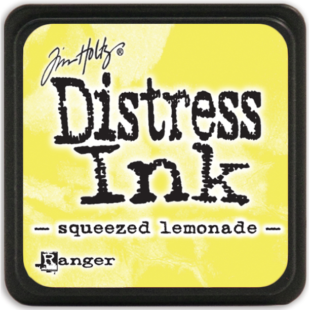 Tim Holtz Distress Mini Ink Pad-Squeezed Lemonade