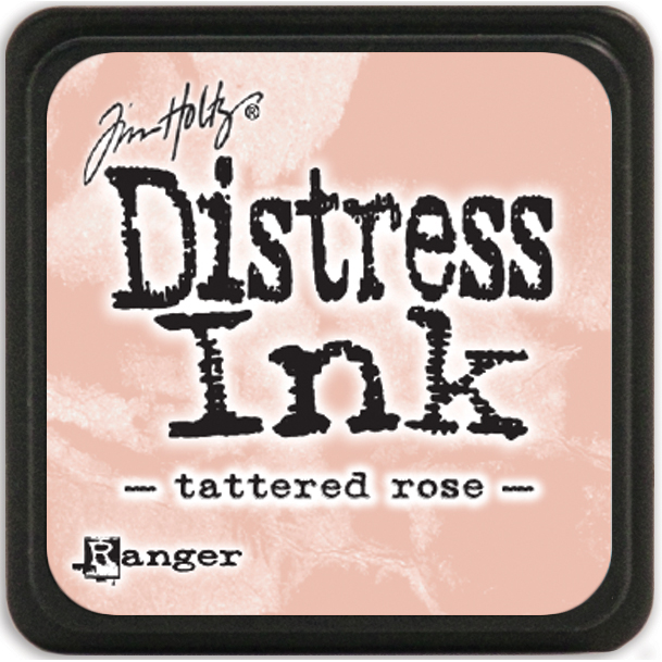 Tim Holtz Distress Mini Ink Pad-Tattered Rose