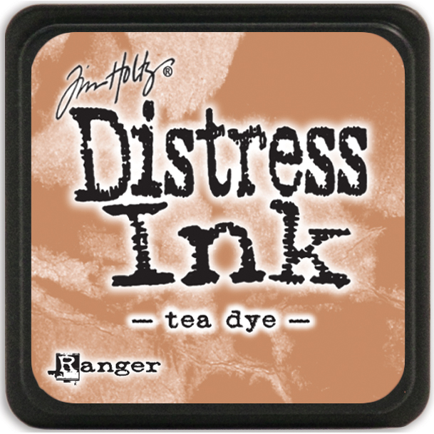 Tim Holtz Distress Mini Ink Pad-Tea Dye