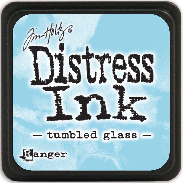 Tim Holtz Distress Mini Ink Pad-Tumbled Glass