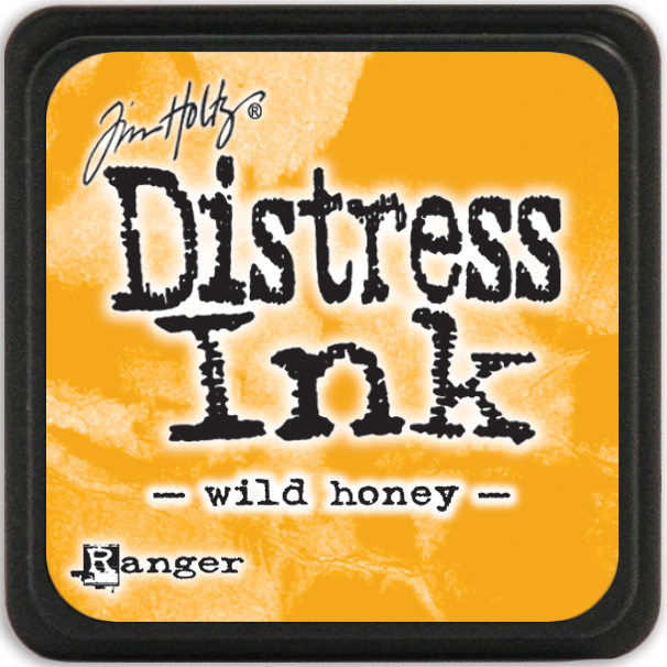 Tim Holtz Distress Mini Ink Pad-Wild Honey