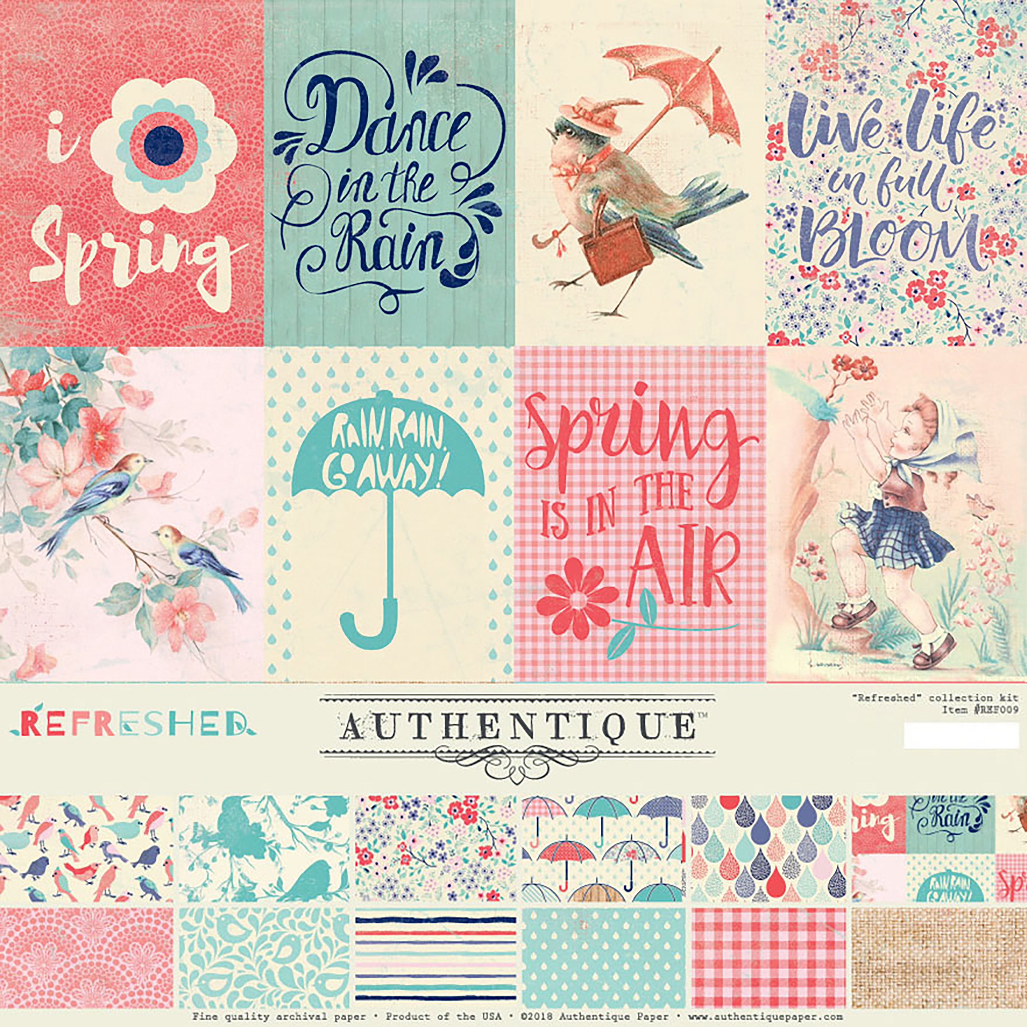 Authentique Collection Kit 12X12-Refreshed