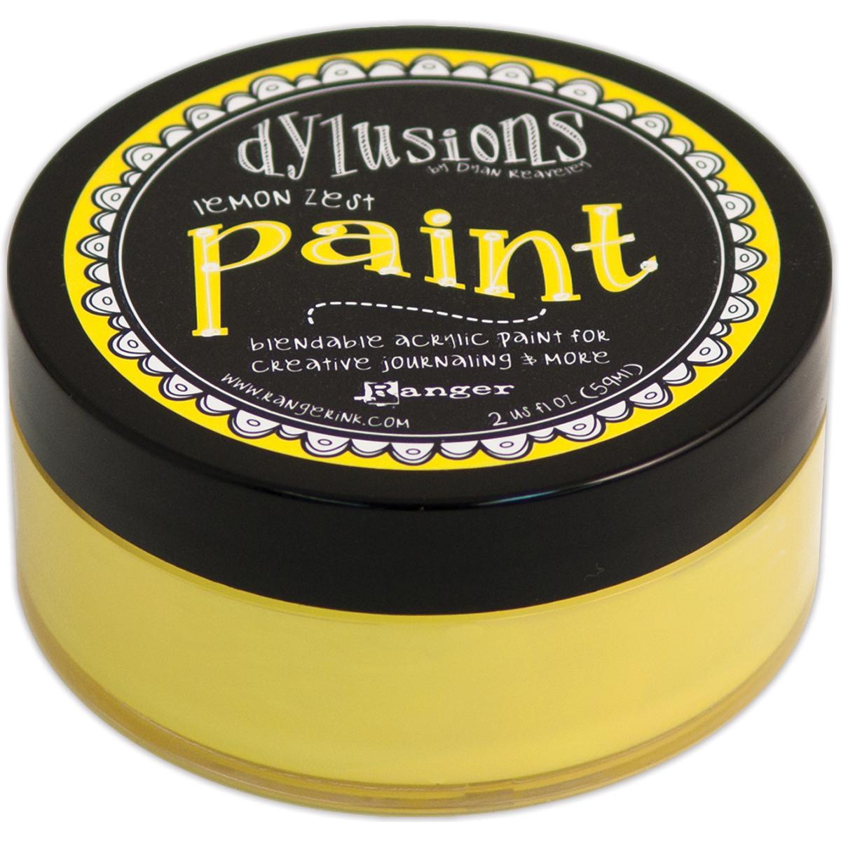 lemon zest paint