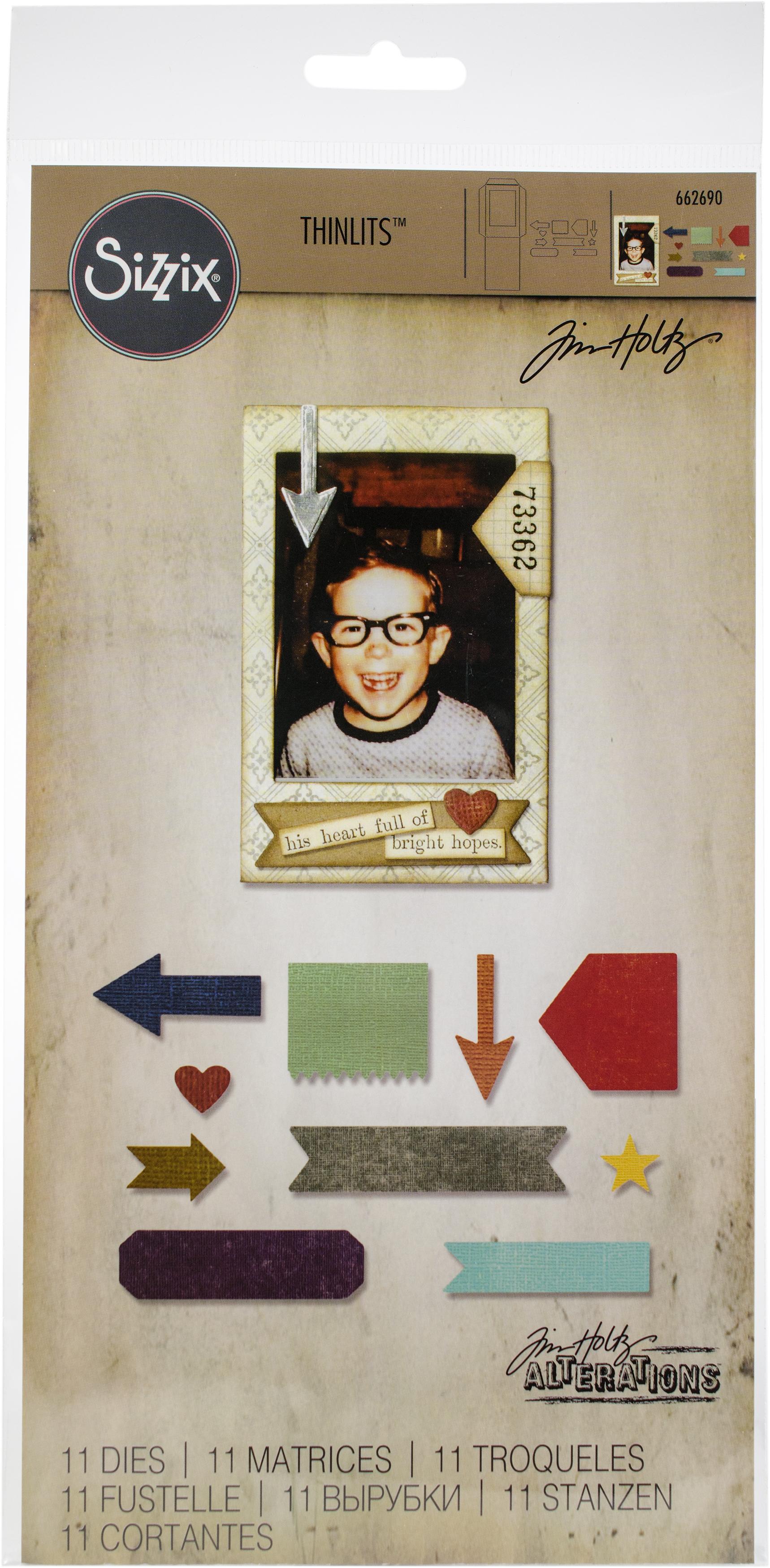 Sizzix Thinlits Dies By Tim Holtz -Pocket Frame