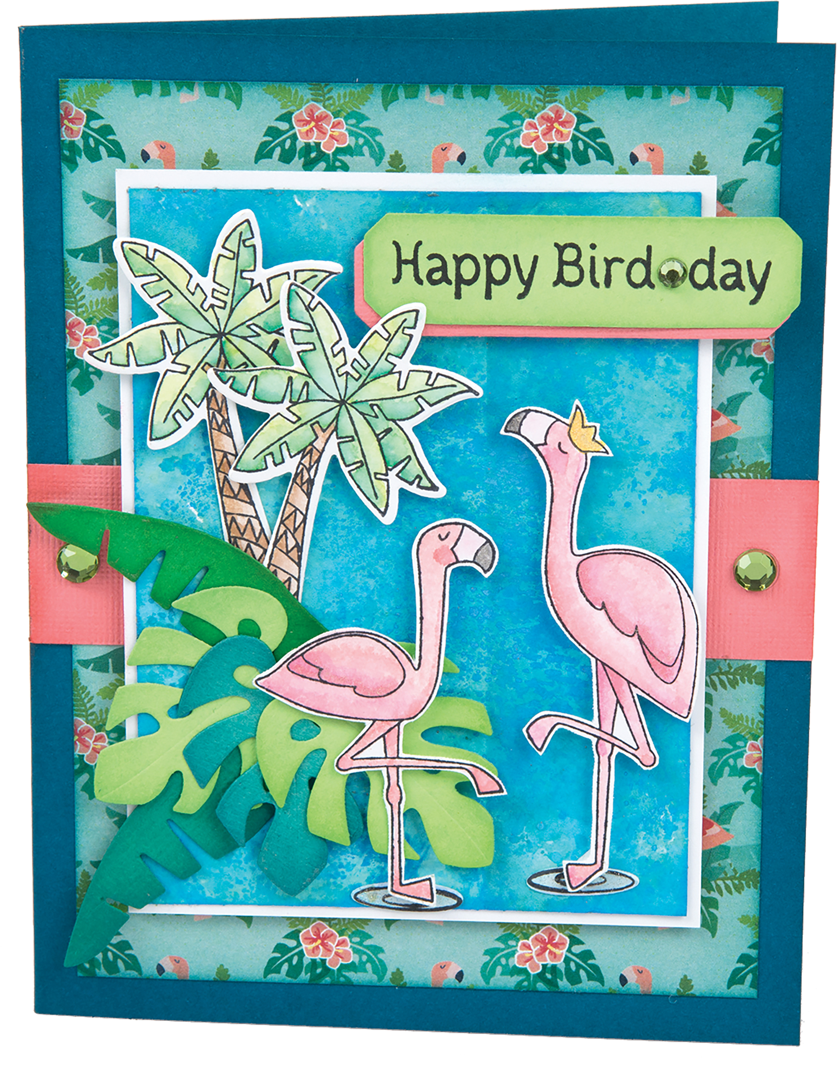 Sizzix Framelits Die & Stamp Set By Lynda Kanase-Birds Of A Feather
