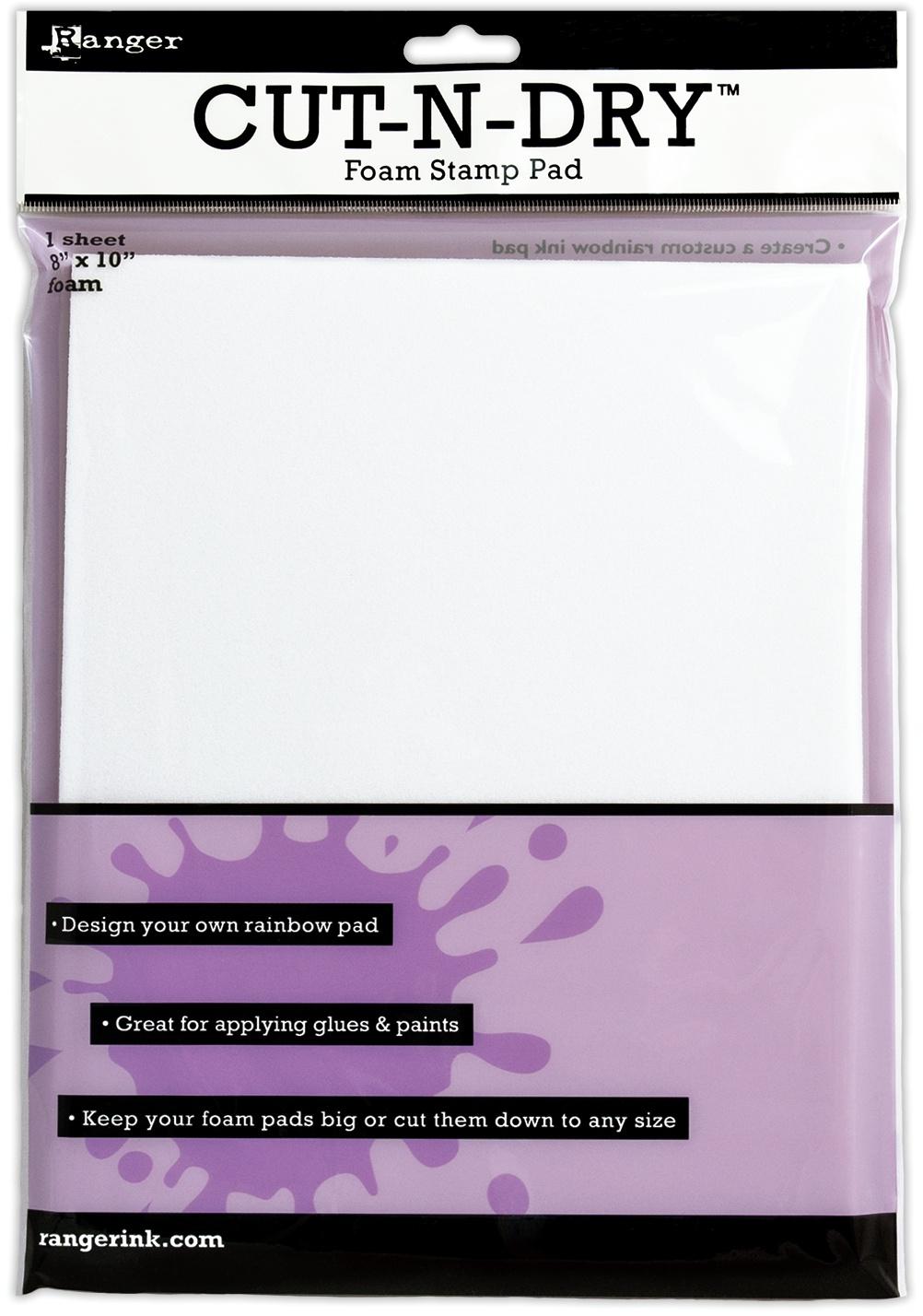 Inkssentials Cut-N-Dry Stamp Pad Foam-8X10 Sheet