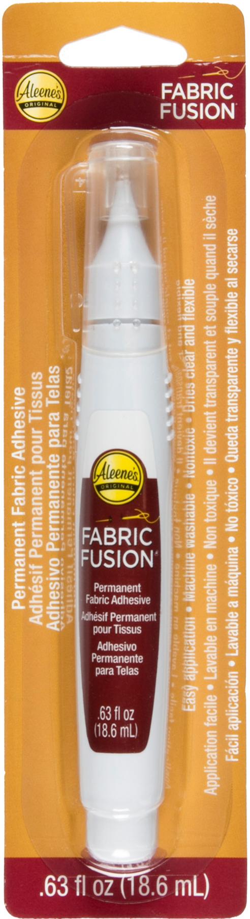 Aleene's Fabric Fusion Permanent Adhesive Pen-.63oz