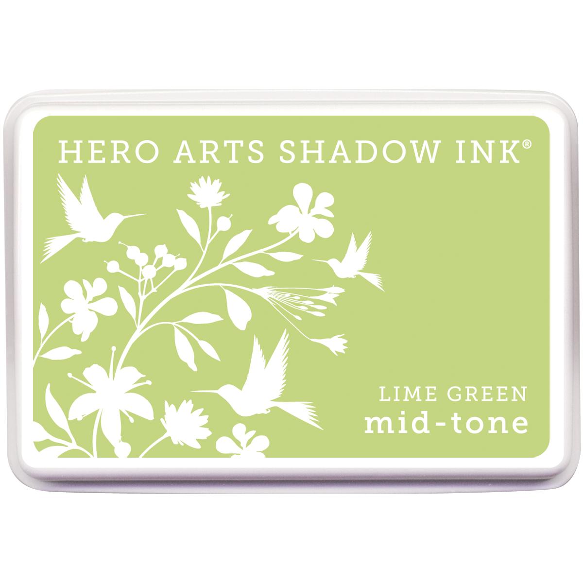 Hero Arts Midtone Shadow Ink Pad-Lime Green