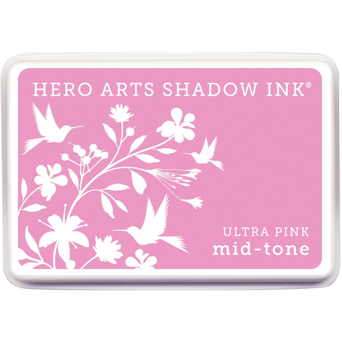 Hero Arts Midtone Shadow Ink Pad-Ultra Pink