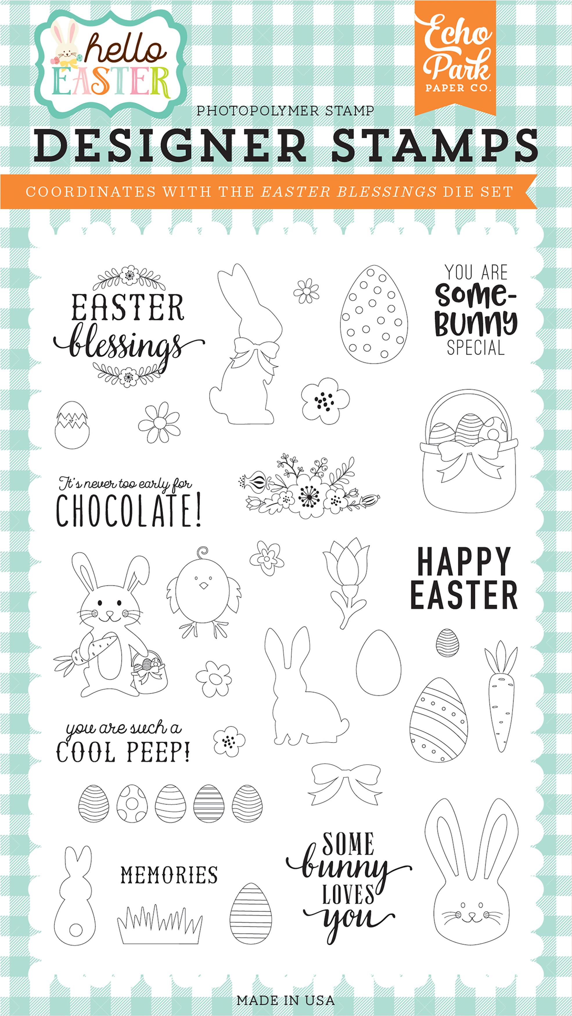Echo Park Easter Blessings Hello Easter