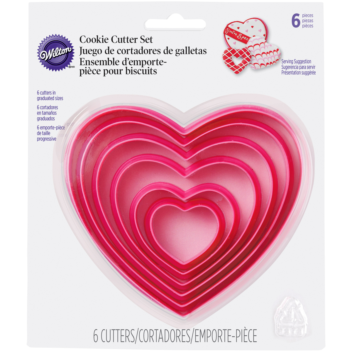 Nesting Cookie Cutter Set - Hearts