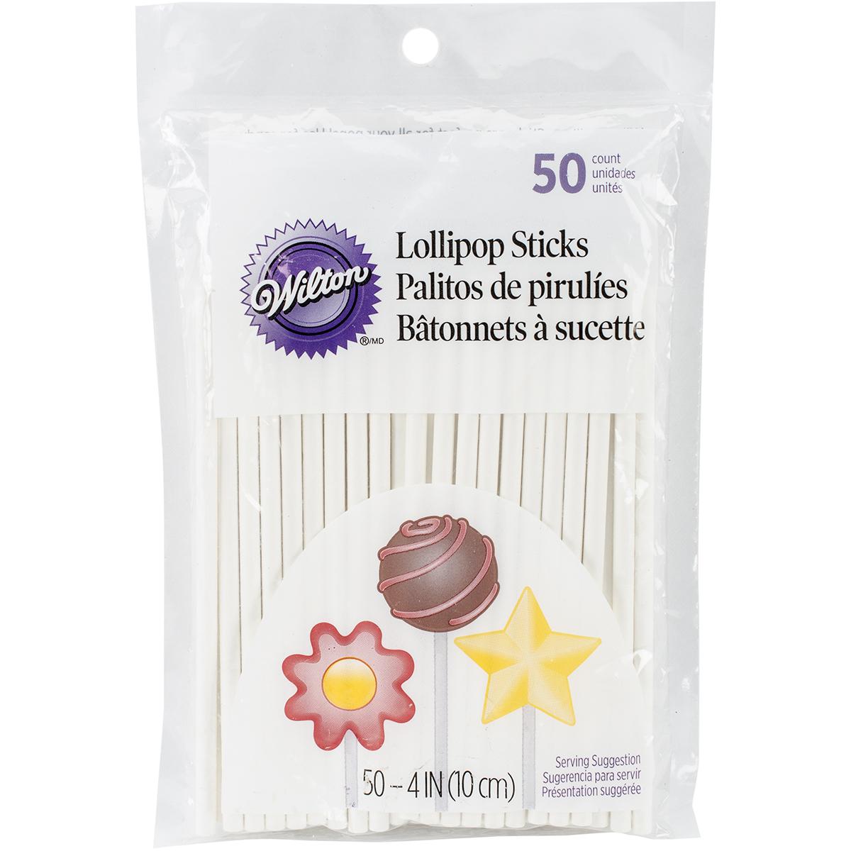 Lollipop Sticks 50 pack