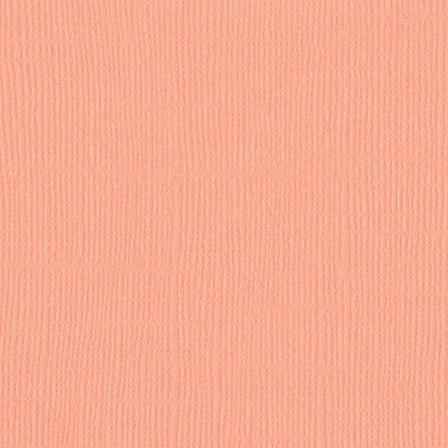 Coral Crem-Mono Cardstock 12X12