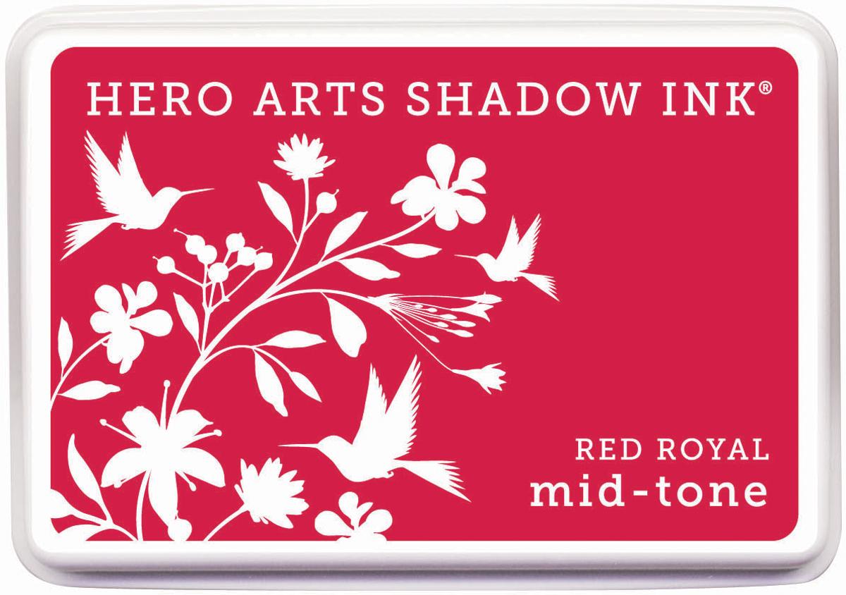 Hero Arts Midtone Shadow Ink Pad-Red Royal